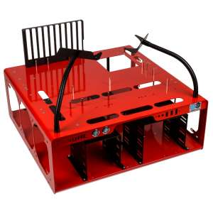DimasTech  Benchtable EasyXL Spicy Red