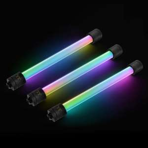 Thermaltake  Pacific RGB Plus TT Premium Edition złączki LED - Hard tube 16 / 12mm G1 / 4 cale (zestaw 6)