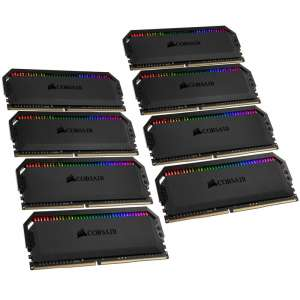 Corsair  Dominator Platinum Series RGB DDR4-3200 CL16 - 64 GB Dual Quad Kit