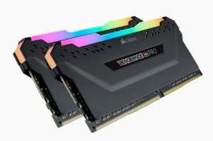 Corsair Vengeance RGB PRO Series LED 16GB, 3200MHz DDR4 CL16 BLACK