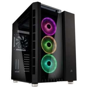 Corsair  Crystal 680X RGB Midi-Tower - Czarna z oknem