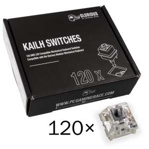 Glorious PC Gaming Race  Kailh Speed ​​Silver Switches (120 sztuk)