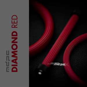 MDPC-X Sleeve BIG - Diamond-Red 1m