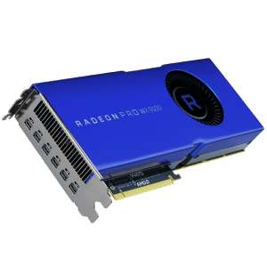 AMD Radeon Pro WX 9100 16384 MB HBM2 6x mini DP