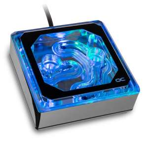 Alphacool Eisblock XPX Aurora Edge CPU - Plexi Chrome Digital RGB