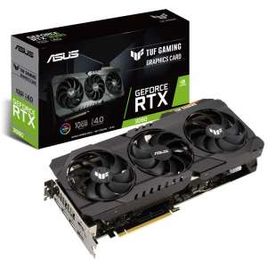 ASUS GeForce RTX 3080 TUF Gaming 10G 10240 MB GDDR6X