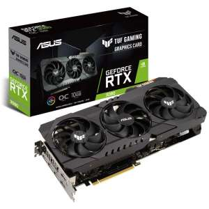 ASUS GeForce RTX 3080 TUF Gaming O10G 10240 MB GDDR6X