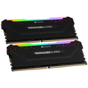 Corsair Vengeance RGB Pro czarna DDR4-3600 CL18 - 64 GB Dual-Kit