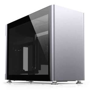Jonsplus i100 Pro Obudowa Mini-ITX Tempered Glass - srebrna
