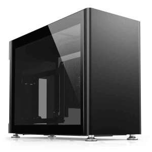 Jonsplus i100 Pro Obudowa Mini-ITX Tempered Glass - czarna
