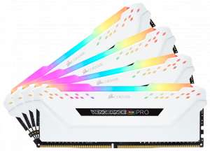 Corsair Vengeance RGB PRO Series LED 32GB, 3200MHz DDR4 CL16 WHITE