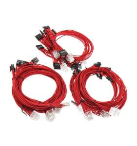 Super Flower Cable Kit - Red