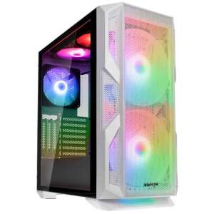 Antec New Gaming NX800 Midi-Tower RGB Tempered Glass - biała