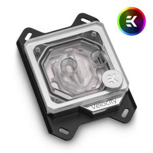 EK Water Blocks  EK Velocity D-RGB - AMD Nickel + Plexi