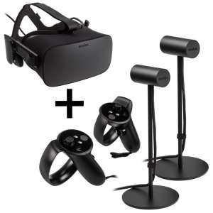 Oculus  Rift Virtual Reality Headset + Touch Motion-Controller (Para)