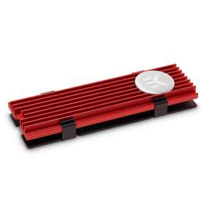 EK Water Blocks  EK-M.2 NVMe Radiator - Czerwony