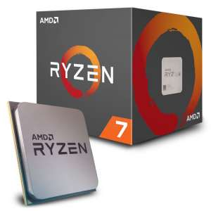 AMD  Ryzen 7 2700X 3,7 GHz (Pinnacle Ridge) Sockel AM4 - box
