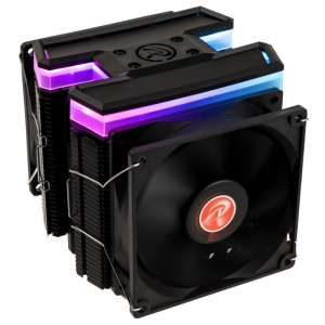 RAIJINTEK  Delos RBW Rainbow RGB LED CPU Cooler - 3x 92mm