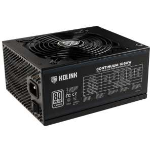 Kolink  Continuum 80 Plus Platinum Power Supply modularny - 1050 watt
