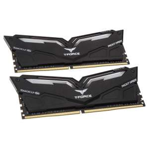 Team Group T-Force Nighthawk, Biały LED, DDR4-2666, CL15 - 16 GB Kit